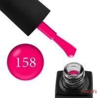 Гель-лак GO 158 неоновий рожевий, 5,8 мл