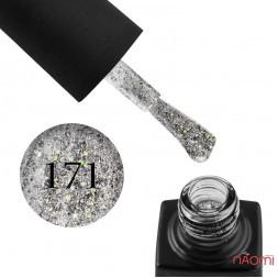 Гель-лак GO 171 серебристые блестки, 5,8 мл