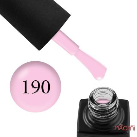 Гель-лак GO 190, сиренево-розовый, 5,8 мл, фото 1, 65.00 грн.