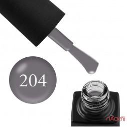 Гель-лак GO 204 серый, 5,8 мл