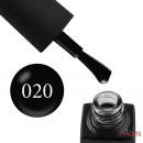 Гель-лак GO 020 черный, 5,8 мл, фото 1, 65.00 грн.