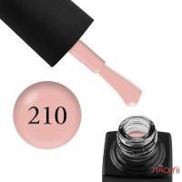 Гель-лак GO 210 розово-бежевая пудра, 5,8 мл