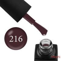 Гель-лак GO 216 слива в шоколаді, 5,8 мл