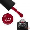 Гель-лак GO 223 малиново-бордовый, с блестками, 5,8  мл, фото 1, 65.00 грн.