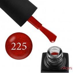 Гель-лак GO 225 кирпично-красный, 5,8 мл