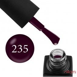 Гель-лак GO 235 фиолетово-баклажанный, 5,8 мл