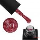 Гель-лак GO 241 бордово-красный, со слюдой, 5,8 мл, фото 1, 65.00 грн.