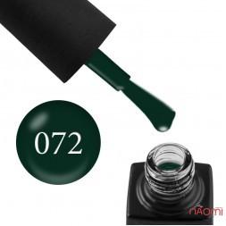 Гель-лак GO Active 072 Never Look Back темно-зелений, 10 мл