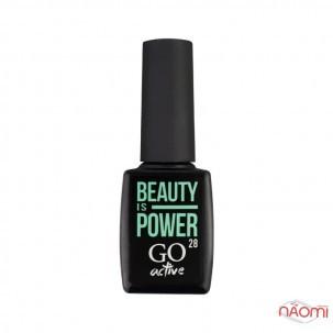 Гель-лак GO Active 028 Beauty is Power холодний мінт, 10 мл