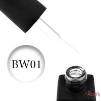 Гель-лак Kodi Professional Black & White BW 001 яскравий білий, 8 мл