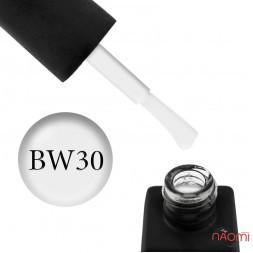 Гель-лак Kodi Professional Black & White BW 030 бело-серый, 8 мл