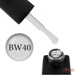 Гель-лак Kodi Professional Black & White BW 040 светло-серый, 8 мл