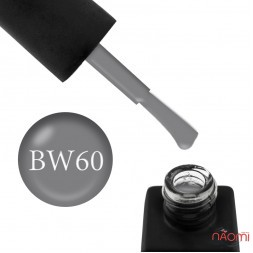 Гель-лак Kodi Professional Black & White BW 060 сірий, 8 мл
