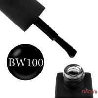 Гель-лак Kodi Professional Black & White BW 100 черный, 8 мл