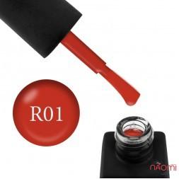 Гель-лак Kodi Professional Red R 001 помаранчево-червоний, 8 мл