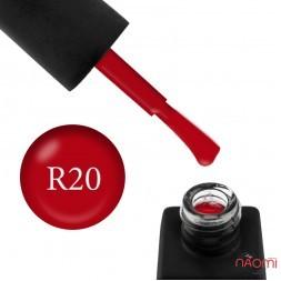 Гель-лак Kodi Professional Red R 020 огненно-красный, 8 мл