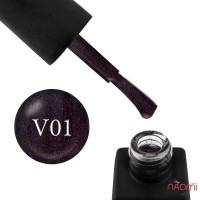 Гель-лак Kodi Professional Violet V 001 баклажановый, с шиммерами, 8 мл