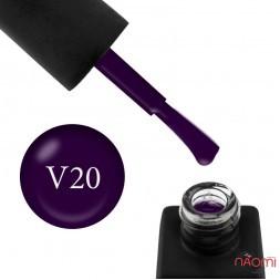 Гель-лак Kodi Professional Violet V 020 темный баклажан, 8 мл