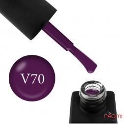 Гель-лак Kodi Professional Violet V 070 сливово-фиолетовый, 8 мл