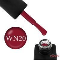 Гель-лак Kodi Professional Wine WN 020 карминовый, 8 мл