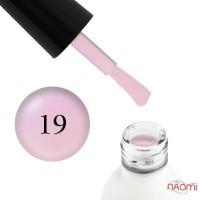 Гель-лак Koto 019 полупрозрачный с розовым перламутром и шиммерами, 5 мл
