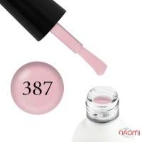 Гель-лак Koto 387 светло-розовый, с шиммерами, 5 мл
