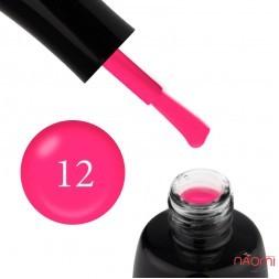 Гель-лак LUXTON 012 розовый неоновый с флуоресцентным эффектом, 10 мл