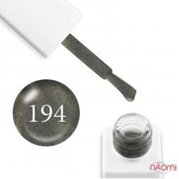 Гель-лак мраморный Trendy Nails № 194 хаки, с флоком, плотный, 8 мл