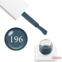 Гель-лак мраморный Trendy Nails № 196 морская волна, с флоком, плотный, 8 мл