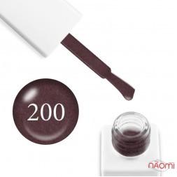 Гель-лак мармуровий Trendy Nails № 200 рожевий шоколад, з флоком, 8 мл