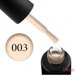 Гель-лак Naomi 003  Amour прозрачный с бледно-розовым оттенком, 6 мл