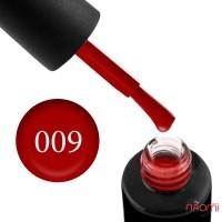 Гель-лак Naomi 009  Cherry Wood темно-красный, 6 мл