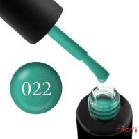 Гель-лак Naomi 022  Jade нефритовый светло-зеленый, 6 мл