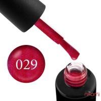 Гель-лак Naomi 029  Jazerry Jam малиновый с фиолетово - розовыми шимерами, 6 мл