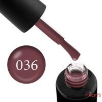 Гель-лак Naomi 036  Dark Chocolate коричневый, 6 мл