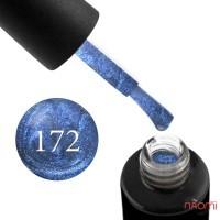Гель-лак Naomi 172  Toyal Morpho синий с перламутром, 6 мл
