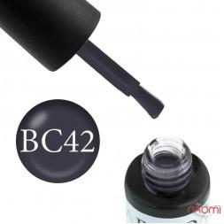 Гель-лак Boho Chic BC 042 серый, 6 мл