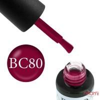 Гель-лак Boho Chic BC 080 вишневый, 6 мл