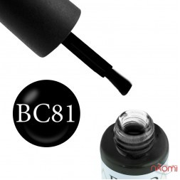 Гель-лак Boho Chic BC 081 черный, 6 мл