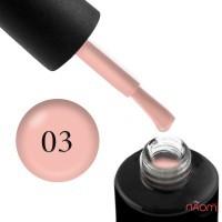 Гель-лак Naomi Gel Polish  03 - Amour полупрозрачный с бледно-розовым оттенком, 12 мл