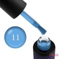 Гель-лак Naomi Soft Touch ST 11 голубой, полупрозрачный, матовый, 6 мл