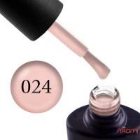 Гель-лак NUB 024 Ballerina светло-розовый с шиммером, 11,8 мл