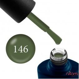 Гель-лак NUB 146 Turtles Green оливковый зеленый, 8 мл