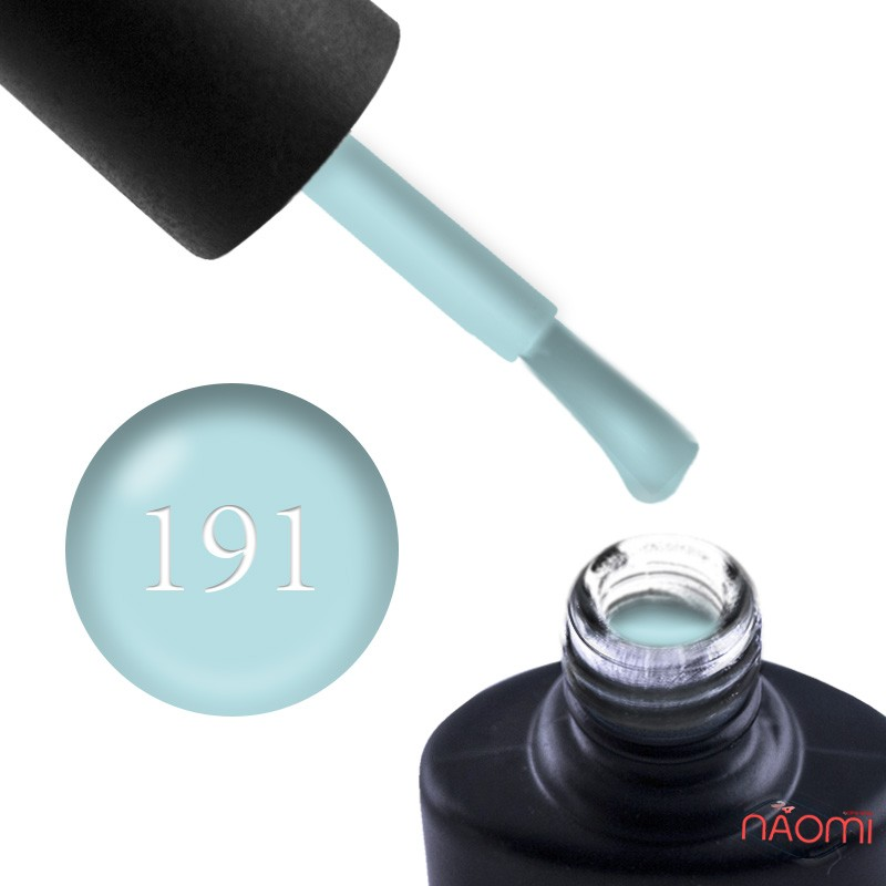 Гель-лак NUB 191 голубой ментол, 8 мл, фото 1, 149.00 грн.