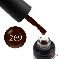 Гель-лак Oxxi Professional 269 цвет молочный шоколад, 10 мл