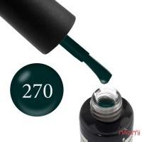 Гель-лак Oxxi Professional 270, цвет изумрудный, 10 мл