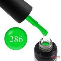 Гель-лак Oxxi Professional 286 яркий зеленый, 10 мл