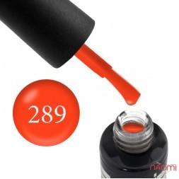Гель-лак Oxxi Professional 289 яскравий оранжево-лососевий, 10 мл