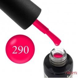 Гель-лак Oxxi Professional 290 неоново-рожевий, 10 мл