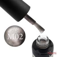 Гель-лак Oxxi Professional Moonstone 2 серый фанго, 8 мл